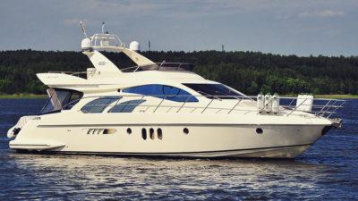 Аренда яхты Азимут 55